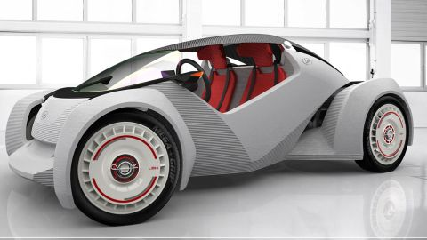 Local Motors previously produced the world's first 3-D printed car, the Strati.