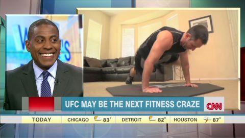UFC may be next fitness craze Watson interview Newday _00004405.jpg