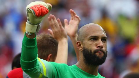 Tim Howard has been in fine form as the Team USA progresses to the last 16 of the World Cup.