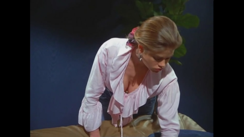 """Denise Richards appears as the daughter of Russell Dalrymple, president of NBC, who was considering doing a sitcom with Jerry and George. George gets caught staring at her cleavage, almost ruining the deal. Four years later, Denise Richards played Lt. Carmen Ibanez in """"Starship Troopers."""" She's also Charlie Sheen's ex-wife."""