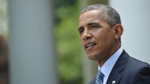 US Presidential Barack Obama speaks on immigration reform in the Rose Garden of the White House on June 30, 2014 in Washington, DC. AFP PHOTO/Mandel NGAN (Photo credit should read MANDEL NGAN/AFP/Getty Images)