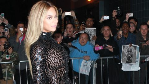 """In December 2013, Beyonce stunned fans by releasing a surprise """"visual album."""" The project was well-received <a href=""""http://www.billboard.com/biz/articles/news/5840087/beyonce-makes-billboard-200-history-with-fifth-no-1-album"""" target=""""_blank"""" target=""""_blank"""">and shot to No. 1</a>, spawning platinum hits like the single """"Drunk In Love."""""""