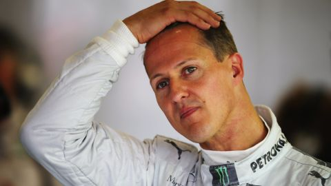 """Michael Schumacher's manager expressed the """"continued support and patience"""" being offered to the stricken Formula One star. """"We must hope that with continued support and patience he will one day be back with us,"""" Sabine Kehm said. In December 2016 she added Schumacher's health """"is not a public issue."""""""