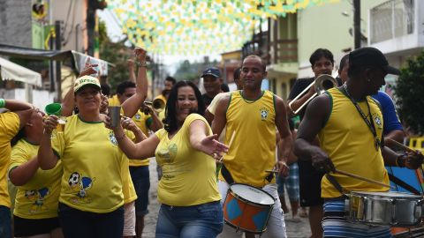 Although the run up to  World Cup was overshadowed by the threat of protests and riots, the Brazilians have reveled in their team's progression to the quarterfinals.