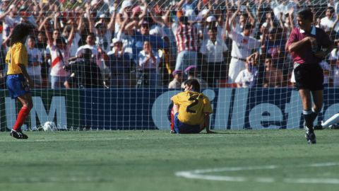 Twenty years ago at the 1994 World Cup in the United States, Colombian Andres Escobar scored an own goal against the hosts as the South America side crashed out of the tournament. Five days after their elimination Escobar was shot dead in his home town of Medellin.