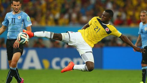 With Falcao out of the tournament Porto's Jackson Martinez is the man tasked with leading the Colombian attack.