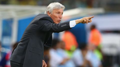 Colombian coach Jose Pekerman led Argentina to the World Cup quarterfinals in 2006 before losing to hosts Germany on penalties.