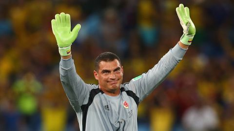 Faryd Mondragon became the oldest player to have ever played in the World Cup at the age of 43. He came on as a substitute for the last 10 minutes of Colombia's last group game against Japan.