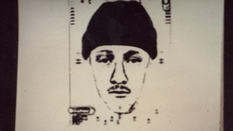 Investigators found a witness, Patrick Cone, who said he saw a tall white man wearing jeans, a knit cap and a Members Only jacket leaving the Eastburns' driveway carrying a trash bag. A police artist drew this sketch of the man based on Cone's description. Prosecutors said the sketch resembled Hennis.