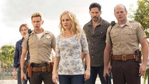 """When """"True Blood"""" met its true death with its series finale, it had the nerve to drag one of its central characters with it. (This person may or may not be pictured.) Fans were divided on the ending."""