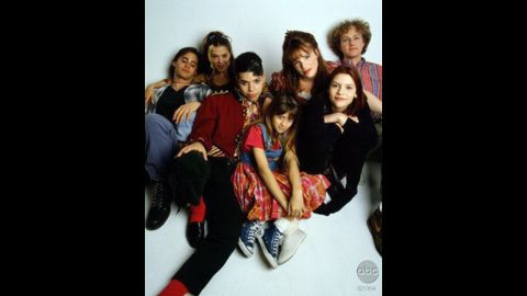 """""""My So-Called Life"""" launched the career of a teen Claire Danes, second from right, who starred in the ABC drama about the angst of the high school years. Despite what would become a cult following, it suffered from low ratings and no Emmy love."""