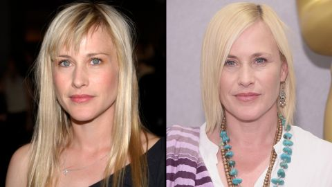 Hawke's co-star, Patricia Arquette, was also captured in Linklater's film, aging 12 years since she began working on the project at about age 34.