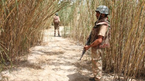 The military claims more than 400 militants have been killed during their three-week offensive.