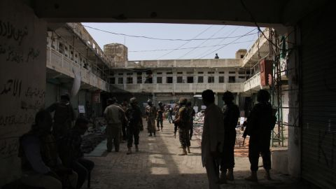 Miranshah, one of the largest towns in the region, which borders Afghanistan, has been left a ghost town by the military operation.