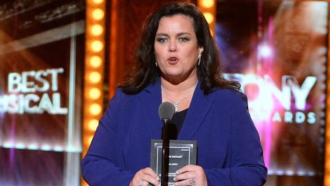 """Rosie O'Donnell was part of """"The View"""" twice. She <a href=""""http://www.cnn.com/2015/02/07/entertainment/rosie-odonnell-leaving-the-view/index.html"""" target=""""_blank"""">left the show</a> in early 2015 to focus on her family after a split from her wife. O'Donnell previously co-hosted during the show's 10th season in 2006-07 and got into heated debates with former co-host Elisabeth Hasselbeck."""