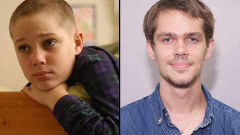 """Ellar Coltrane is one actor who can say he has literally grown up on film. The 19-year-old spent 12 years working with Richard Linklater on the writer/director's opus, """"Boyhood,"""" starring as the central character, Mason. Over the course of the film, viewers see Coltrane grow from a baby-faced child, left, to a bearded young man."""