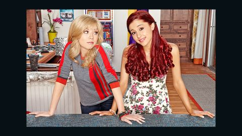"""Jennette McCurdy and  Ariana Grande star in Nickelodeon """"Sam & Cat."""""""
