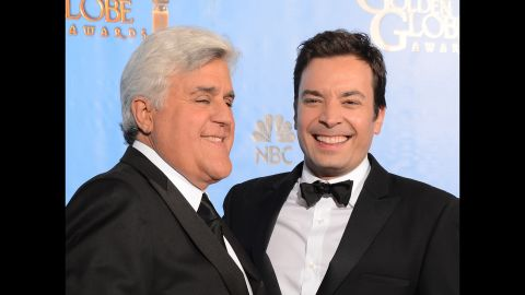 """<strong>Best:</strong> Jimmy Fallon took over for a retiring Jay Leno in March, part of one of the many changes on late-night TV -- including Seth Meyers leaving """"SNL"""" to join """"Late Night."""" Since the takeover, Fallon has routinely provided some of the Web's most viral videos, and he's held on to his spot as the No. 1 late-night show."""