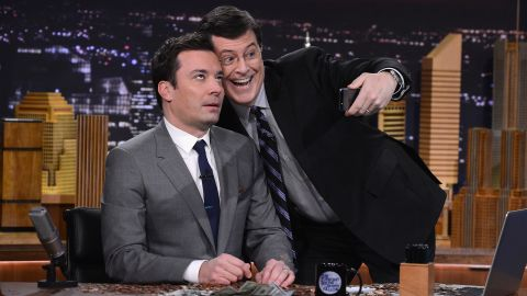 """<strong>Best:</strong> CBS somehow must have known the only way the masses would accept Letterman's departure would be to bring in Stephen Colbert as a replacement. We're sad to see Dave go but intrigued by what Colbert will do in the host's chair. <a href=""""http://www.cnn.com/2014/12/19/showbiz/tv/colbert-report-final-show-stephen-colbert/index.html?hpt=en_c1"""" target=""""_blank"""">Especially since he's immortal now and all</a>."""