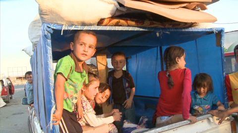 pkg damon iraq mosul refugees dangerous trip_00011908.jpg