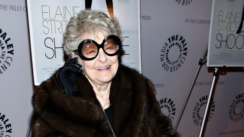 """Elaine Stritch, the brassy, gravelly voiced actress of stage and screen, died on July 17. She was 89. In February of this year, she attended a screening of """"Elaine Stritch: Shoot Me."""" Look back at her legendary career."""