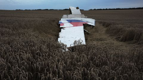 Malaysia Airlines Flight 17 crashed in a field in eastern Ukraine on July 17, 2014. U.S. intelligence concluded the passenger jet carrying 298 people was shot down. Ukrainian officials accused pro-Russian rebels of downing the jet, but Russia pointed the finger back at Ukraine, blaming its military operations against separatists.