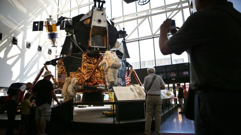 There were 12 lunar modules built for the Apollo moon-landing program.