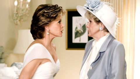 """Stritch played Jane Fonda's mother-in-law in 2005's """"Monster-in-Law."""" Fonda plays Jennifer Lopez's mother-in-law."""