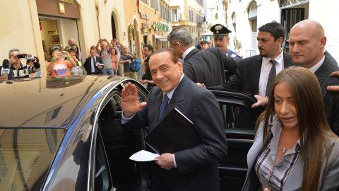 Billionaire media tycoon Silvio Berlusconi has claimed he has been persecuted by leftist magistrates.