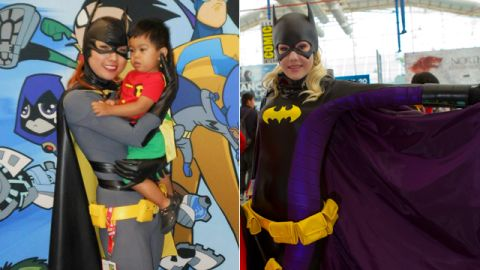 """Batgirl's costume continues to inspire cosplayers (and look for takes on her <a href=""""http://io9.com/batgirls-new-uniform-may-be-the-best-damn-superheroine-1603247249"""" target=""""_blank"""" target=""""_blank"""">new costume </a>this year). Which version is your favorite?"""