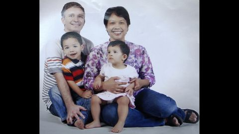 John Paulissen, his wife Yuli Hastini and their two children, Martin Arjuna and Sri were all aboard the flight.