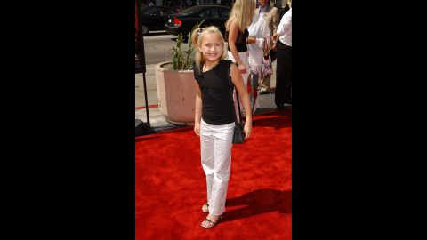 """Bartusiak attends the premiere of """"Spy Kids 2: The Island of Lost Dreams"""" on July 28, 2002, in Hollywood, California."""