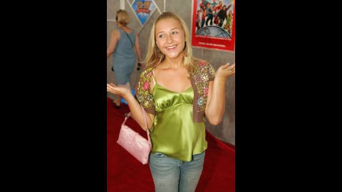 """Bartusiak arrives at the premiere of """"Sky High"""" on July 24, 2005 in Hollywood."""