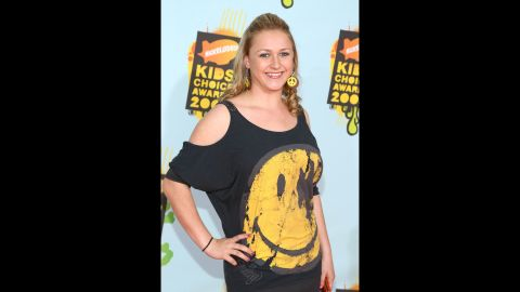 Bartusiak arrives at Nickelodeon's 2008 Kids' Choice Awards on March 29, 2008, in Westwood, California.