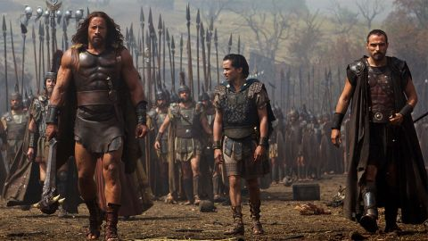 """Dwayne """"The Rock"""" Johnson is """"Hercules"""" this summer, but he's been pretty busy lately, starring in no less than five films in 2013. For his hard work, Forbes estimates the wrestler-turned-actor earned around $52 million."""
