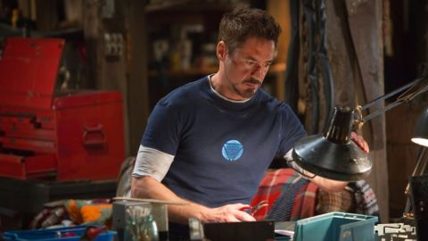 """For Robert Downey Jr., it pays to be """"Iron Man."""" Downey has been crowned Hollywood's highest-paid actor by Forbes magazine for the second year in a row, with an estimated haul of $75 million within the past year alone. Find out who else is playing in his league:"""