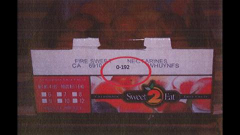 Costco nectarines (4-4.5 lbs.)