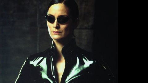 """Carrie-Anne Moss' Trinity was the first main character we saw in the """"Matrix"""" and immediately, we were hooked."""