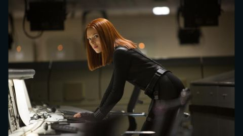 """Scarlett Johansson stole the movie in her first scene in """"The Avengers"""" -- not an easy thing to do. Black Widow was pretty kickass in the film."""