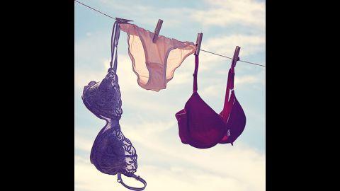 Bras: Every 3 to 4 wears