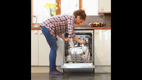 Dishwasher: Every month