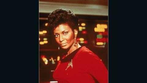 """The actress named her character """"Uhura"""" after the Swahili word """"uhuru,"""" meaning freedom. """"The writers loved the idea, but they thought uhuru sounded too harsh. So we softened it and put an """"a"""" at the end, she explained."""