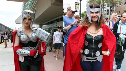 Now that Thor is going to be a woman in the comics, women cosplaying as Thor is more popular than ever.