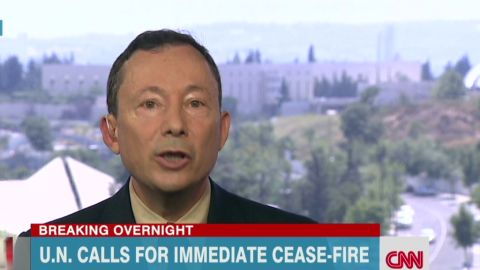 Israeli official Yigal Palmor interview tunnels Newday _00011019.jpg