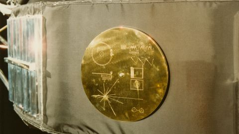 """The Voyager 1 record, entitled """"The Sounds Of Earth,"""" contains a selection of recordings of life and culture."""