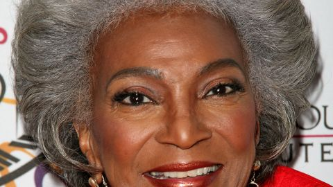 """""""There was hardly anyone on television of my race at the time in the 1960s,"""" said 81-year-old Nichols. """"Occasionally you'd see someone very well known, but this was a long-running role. So it was a wonderful opportunity, to do something that has a long range effect."""""""