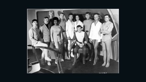 """The cast of 1979's """"Star Trek: The Motion Picture,"""" the first feature film from the TV series."""