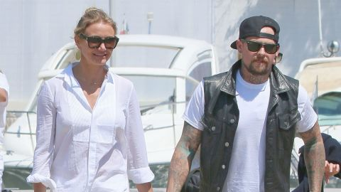 """Cameron Diaz and Benji Madden wasted no time heading down the aisle. The couple, <a href=""""http://www.usmagazine.com/celebrity-news/news/nicole-richie-talks-cameron-diaz-and-benji-madden-is-happy-for-them-201497"""" target=""""_blank"""" target=""""_blank"""">who were reportedly set up</a> by Madden's sister-in-law, Nicole Richie, began dating in May and were engaged around the holidays. By January 5, they were tying the knot in a small wedding at their home in Los Angeles, <a href=""""http://www.people.com/article/cameron-diaz-marries-benji-madden"""" target=""""_blank"""" target=""""_blank"""">reports People magazine. </a>"""