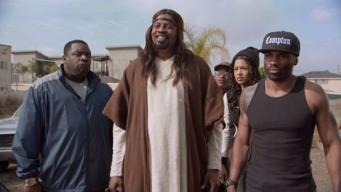 """For a period in 2014, the most talked-about person in Hollywood was Jesus Christ -- whether in movies such as """"Son of God"""" or TV shows such as """"Black Jesus,"""" pictured."""