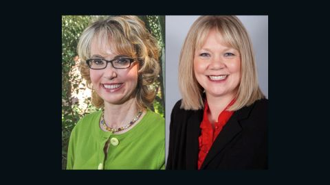 Gabrielle Giffords and Katie Ray-Jones